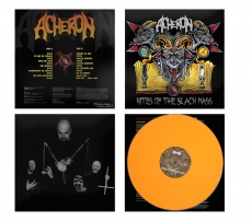 Acheron - Rites Of The Black Mass ++ LP, ORANGE VINYL, lim.400
