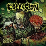 Collision - Satanic Surgery ++ ORANGE LP