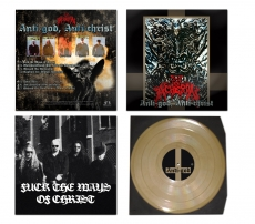 Acheron - Anti-God, Anti-Christ +++ Golden 12 Vinyl
