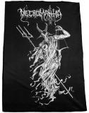 Necromantia - Puppet Christ by Chris Moyen - Flagge 100cm x 72cm