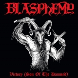 Blasphemy - Victory ++ DIE-HARD 2-LP with FLAG