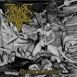 Diabolic Force - Praise Of Satan ++ SPLATTER LP