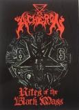 Acheron - Rites of the Black Mass - Flagge 100cm x 72cm
